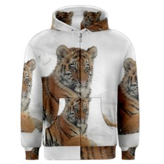 Tiger 2015 0102 Men s Zipper Hoodies