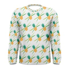 Pineapple Pattern 02 Men s Long Sleeve T Shirts