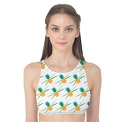 Pineapple Pattern 02 Tank Bikini Top