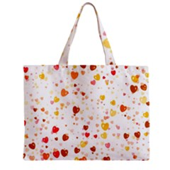 Heart 2014 0605 Zipper Tiny Tote Bags