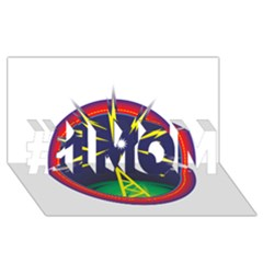 Broadcast #1 MOM 3D Greeting Cards (8x4)