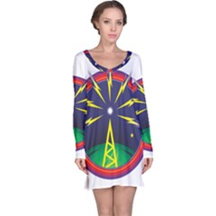 Broadcast Long Sleeve Nightdresses