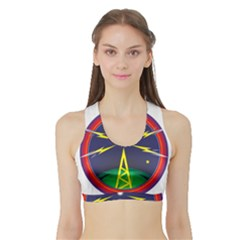 Broadcast Women s Sports Bra With Border