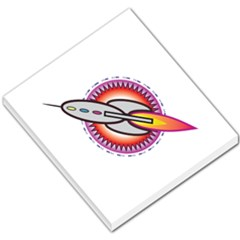 Space Rocket Small Memo Pads