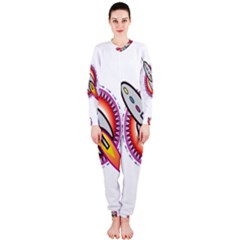 Space Rocket OnePiece Jumpsuit (Ladies)