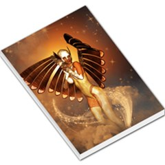 Beautiful Angel In The Sky Large Memo Pads