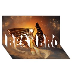 Beautiful Angel In The Sky Best Bro 3d Greeting Card (8x4)