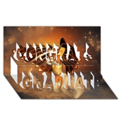 Beautiful Angel In The Sky Congrats Graduate 3D Greeting Card (8x4)