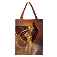 Beautiful Angel In The Sky Classic Tote Bags