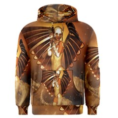 Beautiful Angel In The Sky Men s Pullover Hoodies