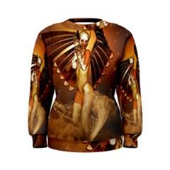 Beautiful Angel In The Sky Women s Sweatshirts