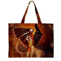 Beautiful Angel In The Sky Zipper Tiny Tote Bags