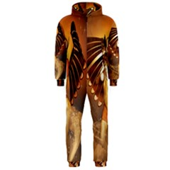 Beautiful Angel In The Sky Hooded Jumpsuit (Men)