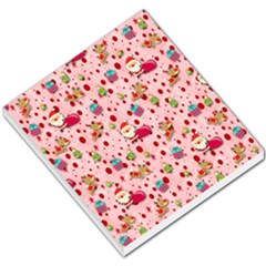 Red Christmas Pattern Small Memo Pads