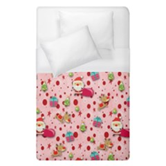 Red Christmas Pattern Duvet Cover Single Side (single Size)