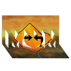 Direction MOM 3D Greeting Card (8x4)