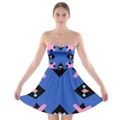 Alvilde Ingjerd  Strapless Bra Top Dress