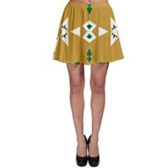 Alvilde Henriette Green Skater Skirts