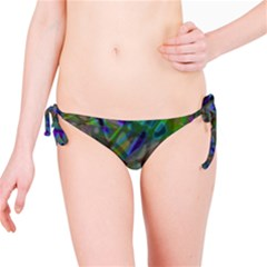 Colorful Abstract Stained Glass G301 Bikini Bottoms