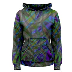 Colorful Abstract Stained Glass G301 Women s Pullover Hoodies
