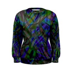 Colorful Abstract Stained Glass G301 Women s Sweatshirts