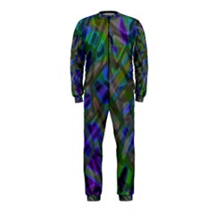 Colorful Abstract Stained Glass G301 OnePiece Jumpsuit (Kids)