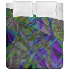 Colorful Abstract Stained Glass G301 Duvet Cover (double Size)
