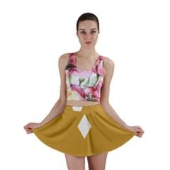 Alvilde Green 2 Mini Skirts