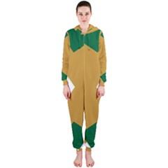 Alvilde Green 2 Hooded Jumpsuit (Ladies)