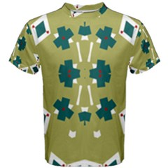 Alvilde Dina Green Men s Cotton Tees