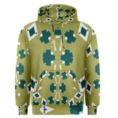 Alvilde Dina Green Men s Pullover Hoodies