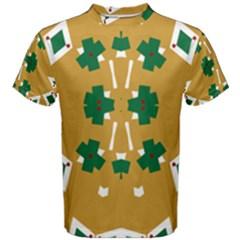 Alvilde Dina Green 2 Men s Cotton Tees
