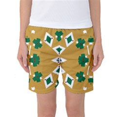 Alvilde Dina Green 2 Women s Basketball Shorts