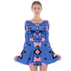Alvilde Camilla Long Sleeve Skater Dress