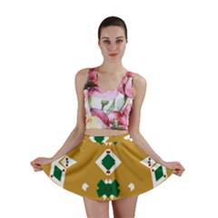 Alvilde Camilla Green 2 Mini Skirts