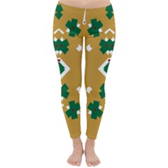 Alvilde Camilla Green 2 Winter Leggings