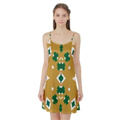 Alvilde Camilla Green 2 Satin Night Slip