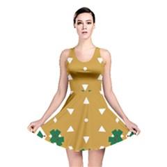 Alvilde Berit Green 2 Reversible Skater Dresses