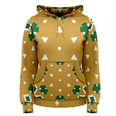 Alvilde Berit Green 2 Women s Pullover Hoodies
