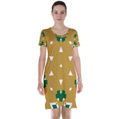 Alvilde Berit Green 2 Short Sleeve Nightdresses
