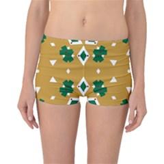 Alvilde Berit Green 2 Boyleg Bikini Bottoms
