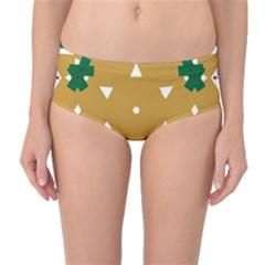 Alvilde Berit Green 2 Mid Waist Bikini Bottoms