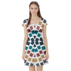 Anita Tuva Short Sleeve Skater Dresses