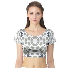 Anita Lorena Short Sleeve Crop Top