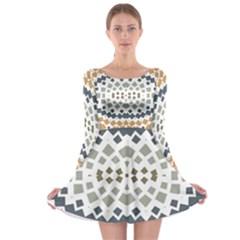 Anita Dina Long Sleeve Skater Dress