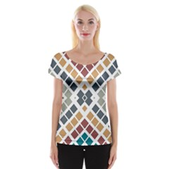 Anita Birgitte Women s Cap Sleeve Top