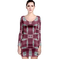Arnfrid Mette Long Sleeve Bodycon Dresses