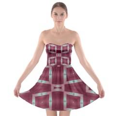 Arnfrid Mette Strapless Bra Top Dress