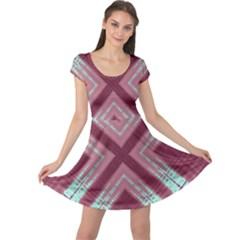 Arnfrid Kristine Cap Sleeve Dresses