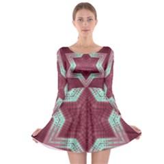 Arnfrid Jolene Long Sleeve Skater Dress